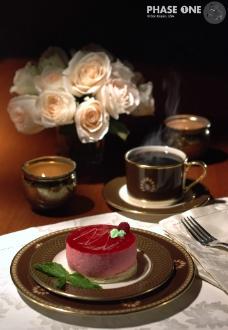 蛋糕和咖啡图片