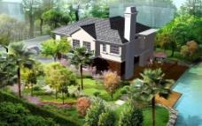 别墅景观图片