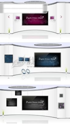电视墙背景