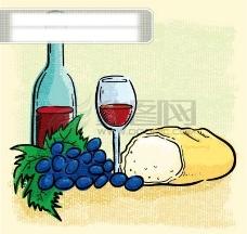 西餐葡萄酒