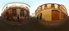 小镇风光图片
