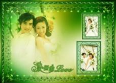 永恒的爱婚纱模板图片