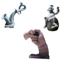石材 石雕 石狮图片
