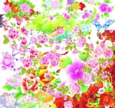 喜庆花卉合集图片
