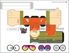 包装设计 白盒 刀模图 彩盒