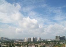 城市天空图片