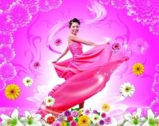 花仙女图片