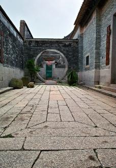 圆门 院子图片