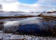 皑皑白雪图片