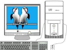 家用电脑图片