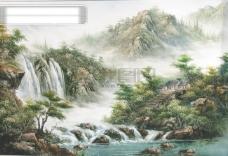 中国淡彩画