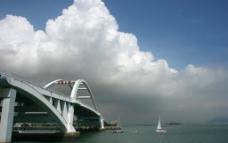 五缘湾大桥图片