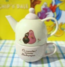 可爱的双子茶壶图片
