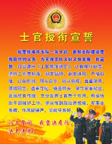 士官授衔宣誓词图片