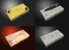 三款梳子包装设计图片