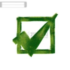 绿色图标对号