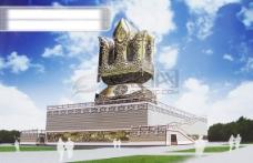 苏力德 鄂尔多斯雕塑 蒙古