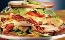 超级三明治图片