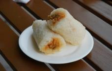 上海肉松饭团图片