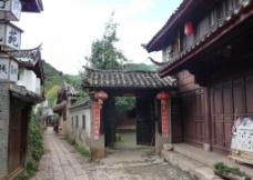 丽江 古城 古街 古建筑图片