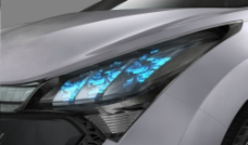 概念车前灯设计图片