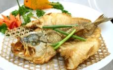 蒜香鲈鱼图片