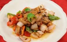 豆豉回锅肉图片