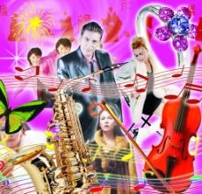 音樂素材圖片