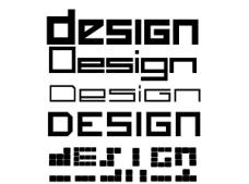 几款设计感强的英文字体