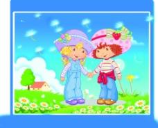 草莓娃图片
