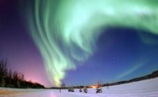 極地彩光图片