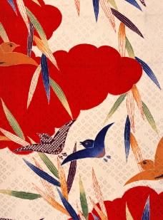 日本布料花纹图片