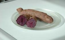 玫瑰紫甘薯图片