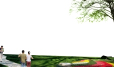 建筑景观psd分层模板之六图片