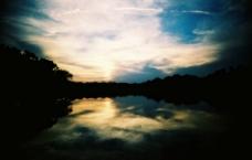 湖光水色图片