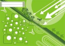 绿色矢量素材