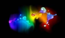 炫彩光线图片