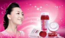 化妆 广告 美女图片