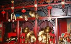 藏族民居装饰图片