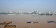 武汉 长江 江滩图片