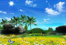 自然風景圖片
