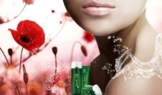 明星化妝品廣告圖片