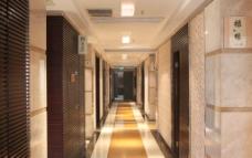 某五星级酒店走廊图片